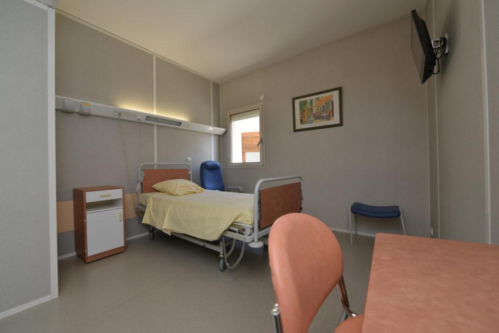 Chambre Hôpital J.Ducuing/Toulouse