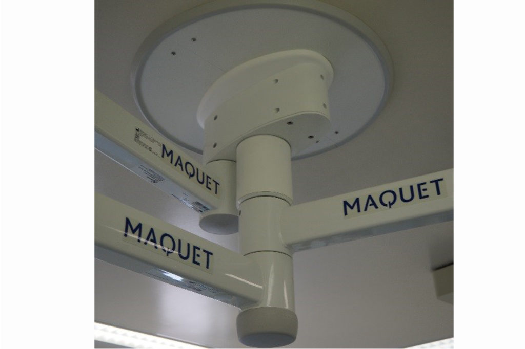 Le bras support -Maquet